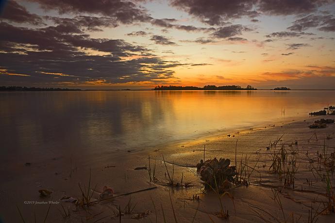 Fripp Inlet Sunset